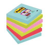 "Bločky Post-it Super Sticky ""Miami"" 76x76mm"